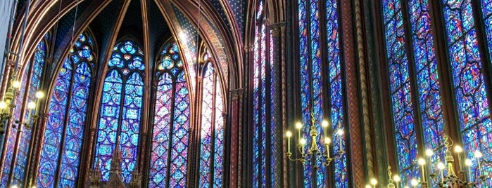 Sainte-Chapelle is one of Bienvenue en France !.