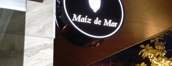 Maiz De Mar is one of Locais curtidos por Alan.