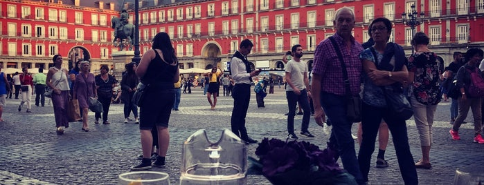 Plaza Major is one of Madrid.