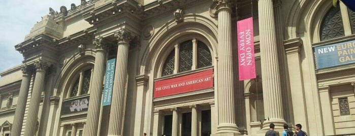 The Metropolitan Museum of Art is one of New York Noms and Things.