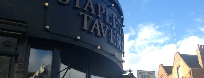 The Stapleton Tavern is one of crouch end.