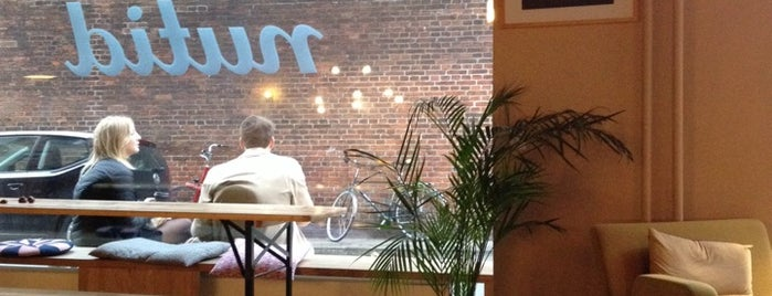 Cafe Nutid is one of Coffee, work and wifi in Copenhagen.