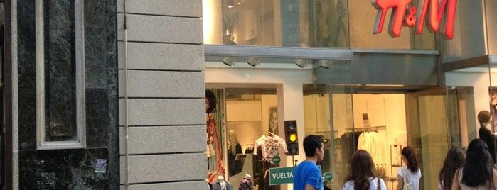 H&M is one of Locais curtidos por Gerardo.