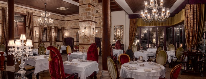 Seraser Fine Dining Restaurant is one of Antalya.