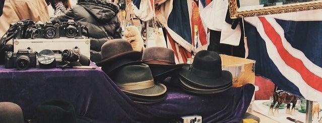Old Spitalfields Market is one of Hi, London!.