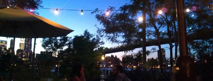 Brooklyn Bridge Garden Bar is one of Backyard/roof boozin.