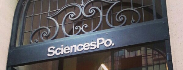 Sciences Po is one of Locais curtidos por Nicolas.