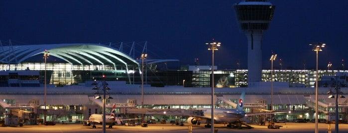 Мюнхенский международный аэропорт им. Ф.-Й. Штрауса (MUC) is one of myAirhavens.
