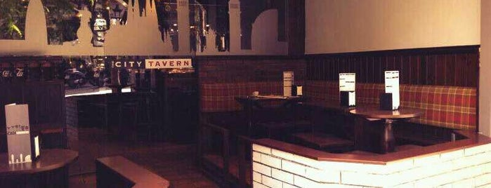 The City Tavern is one of Barcelona.