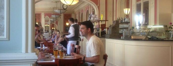 Café Louvre is one of Long weekend in Prague.