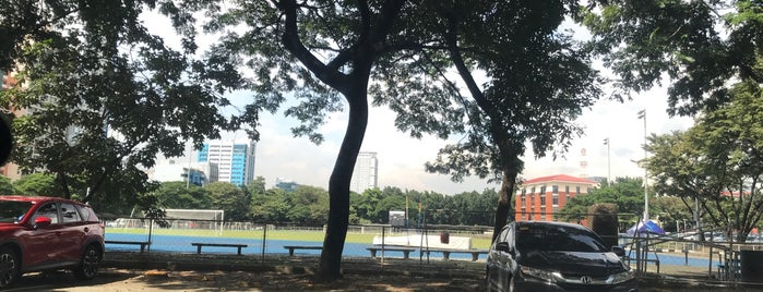 Ateneo College Soccer Field is one of Places I want to eat.