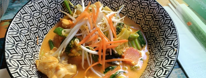 THAI NOODLES del Petit Bangkok is one of Barcelona.