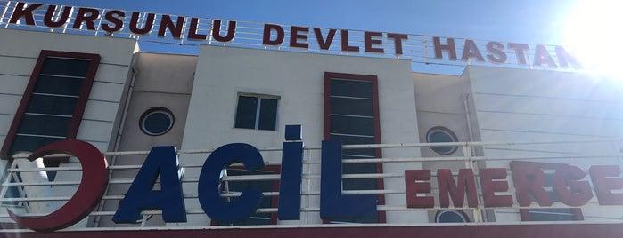 Kurşunlu Devlet Hastanesi Acil Servis is one of Locais curtidos por Resul.