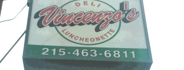 Vincenzo's Deli is one of Philly Spots.