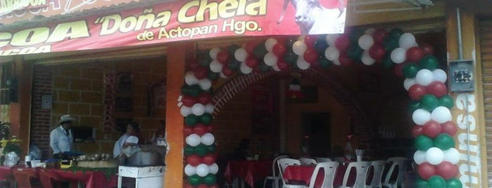 Barbacoa Doña Chela is one of Orte, die Ismael gefallen.