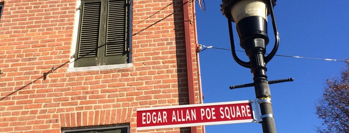 Edgar Allan Poe House & Museum is one of Ziggy goes to Baltimore.