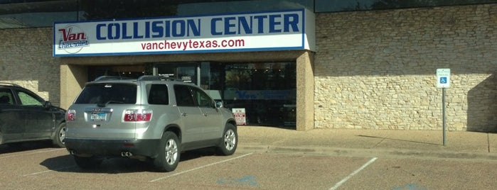 Van Collision Center is one of Russ's Liked Places.