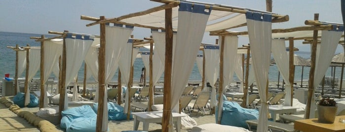 Mylos Beach Bar is one of Gespeicherte Orte von Evi.