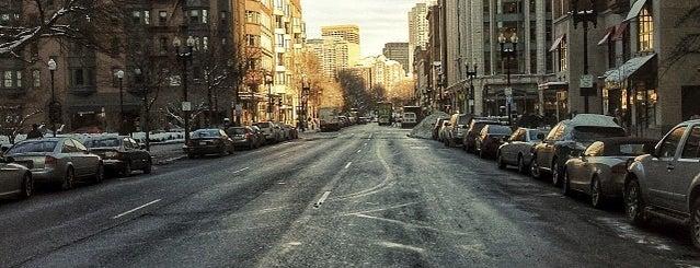 Boylston Street is one of Boston.