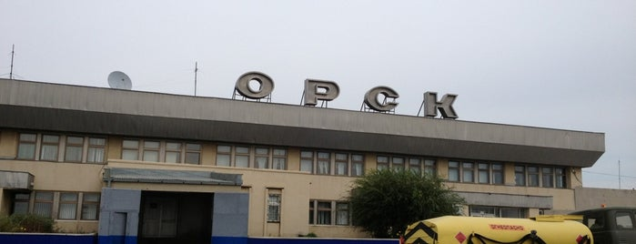 Orsk International Airport (OSW) is one of Locais curtidos por Andrey.