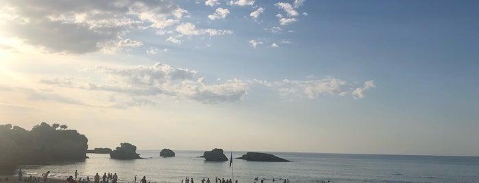 Biarritz is one of Tempat yang Disukai jordi.