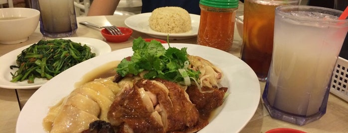 Tian Tian Hainanese Chicken Rice is one of Cin's Singapore.