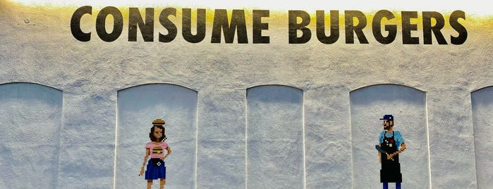 Burgers Never Say Die is one of [ Los Angeles ].