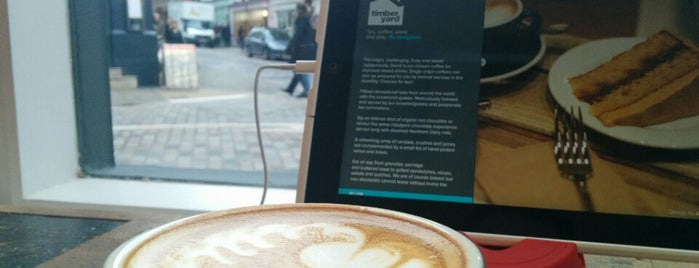 TY Seven Dials - Timberyard is one of 111 Coffee Shops in London.