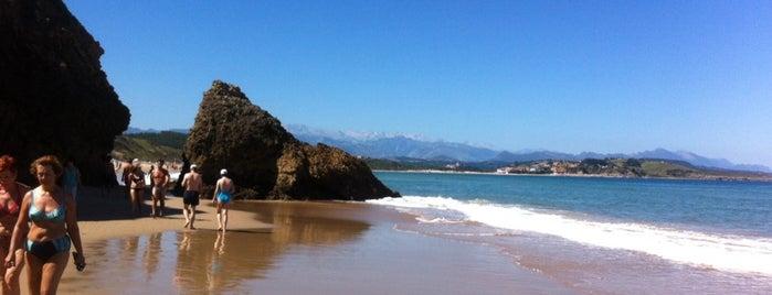 Playa de Merón is one of Playas de España: Cantabria.