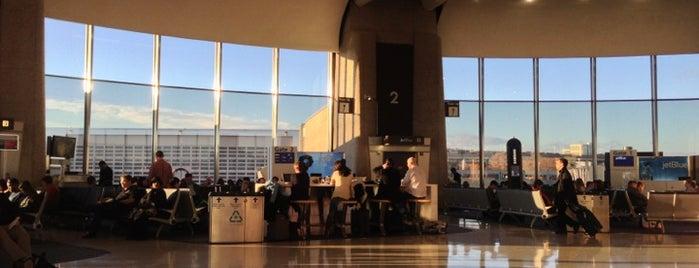 Terminal A is one of Lucy: сохраненные места.