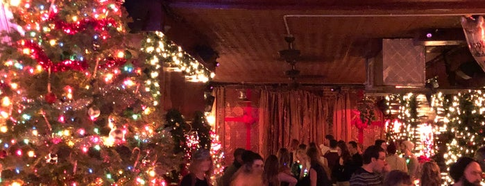 Donner & Blitzen's Reindeer Lounge is one of Xmas in NYC.