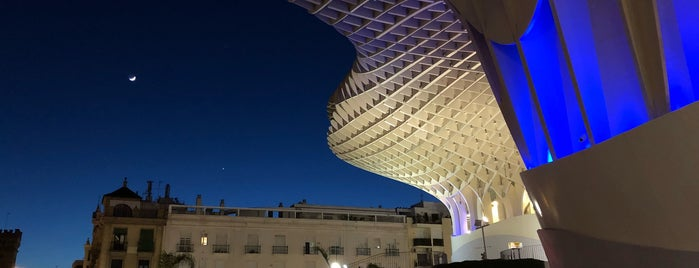 Metropol Parasol is one of Spain recs for Julie.