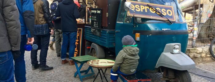 Passenger Espresso Pop Up is one of Cafés Berlin.