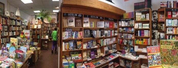 Franz Mehring Buchhandlung is one of Berlin Friedrichshain favs.