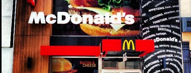 McDonald's is one of Tempat yang Disukai st.