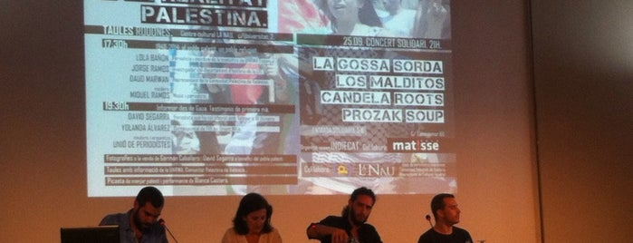 La Nau is one of Conferencias / Debates.