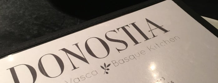 Donostia is one of Favorite London (Notion).
