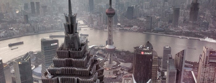 Sky Walk 100 Shanghai World Financial Centre is one of Beautiful Views.