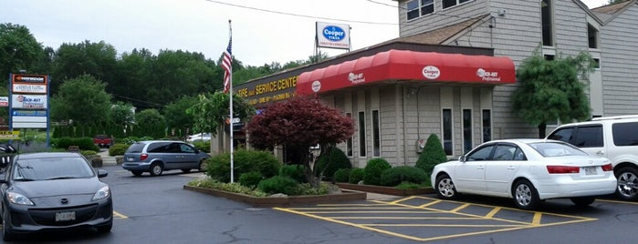 Charlie's Tire & Service Center Inc. is one of Mat's Liked Places.