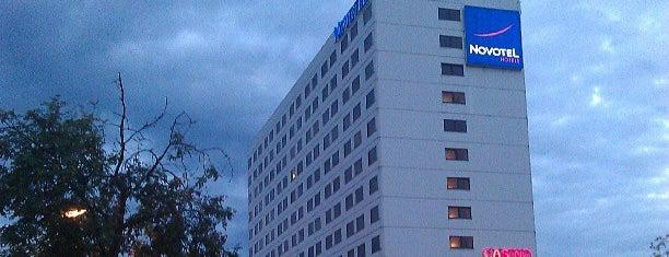 Novotel Hotel Centrum Katowice is one of Lugares favoritos de Renia.