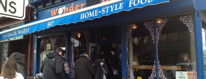 Wonder Bagels is one of Jersey City Eats.