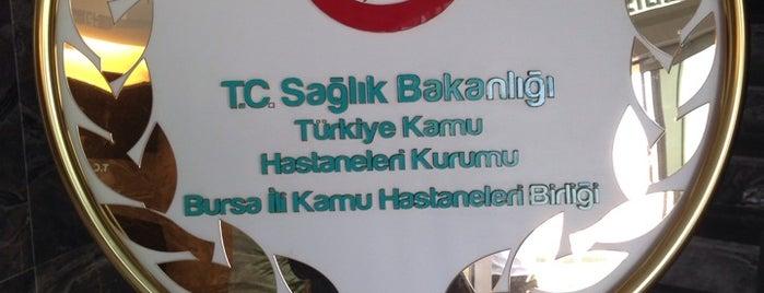 Bursa Kamu Hastaneleri Birliği Genel Sekreterliği is one of Tempat yang Disukai Utku.