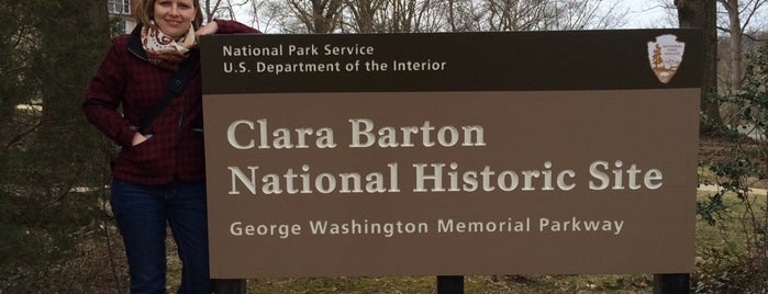 Clara Barton National Historic Site is one of DC Bucket List 2.