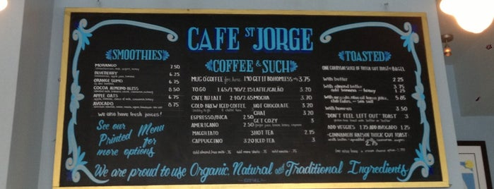 Cafe St. Jorge is one of Coffee in the Bay Area.