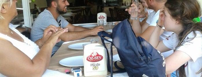 Öz-Sev Restaurant is one of Trky-Tkrdğ.
