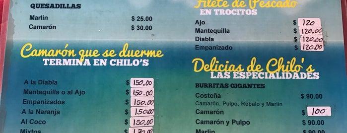 Mariscos chilo's is one of Restaurantes Mexicanos en Puerto Vallarta.