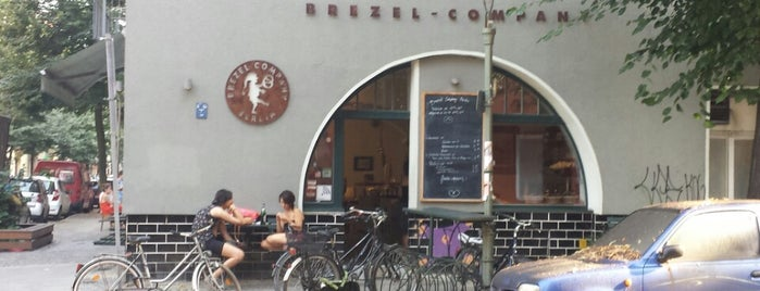 Brezel Company is one of Berlin food.