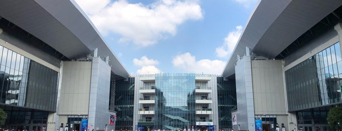 National Exhibition and Convention Center is one of Tempat yang Disimpan Caglar.