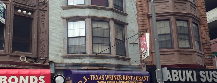 APJ Texas Wiener Restaurant is one of Philadelphia Food & Drink.
