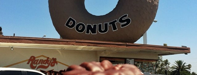 Randy's Donuts is one of Living in Southern California.